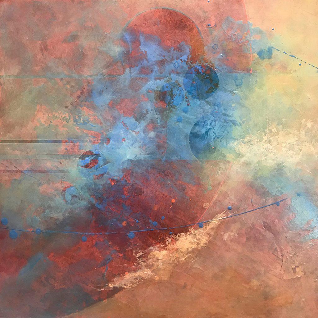 Adrift - Acrylic - 24 x 24
