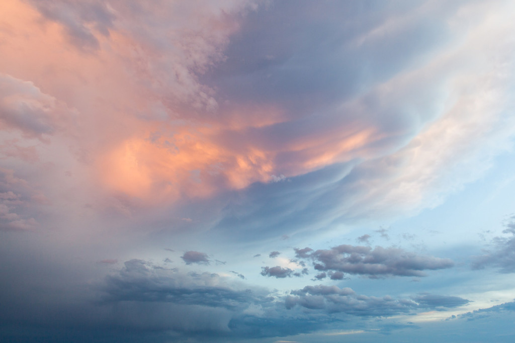 Galisteo Sky - Archival Pigment Print on Canvas - 24 x 36 inches