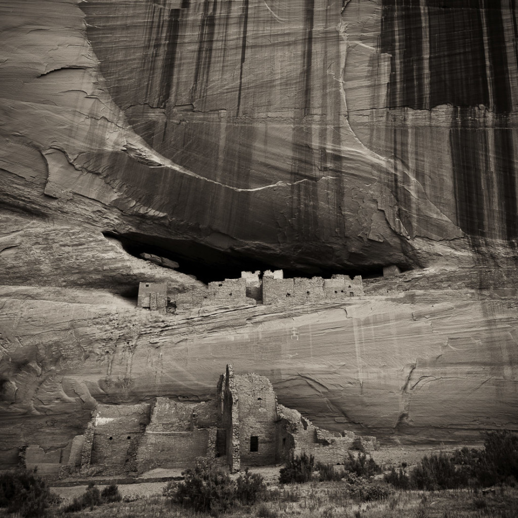 White House Ruin - Canyon de Chelly - Archival Pigment Print on Canvas - 24 x 24 inches