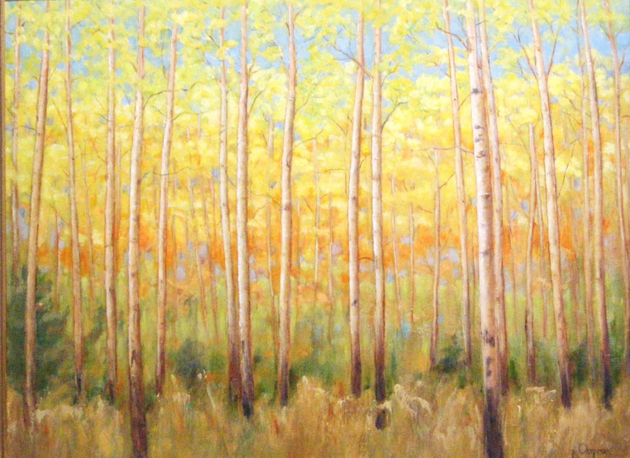 Autumn Bright - Oil on wood panel - 18 x 24 inches