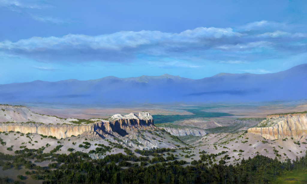 Sangre De Cristo Enchantment - Oil Painting - 60 x 36 inches
