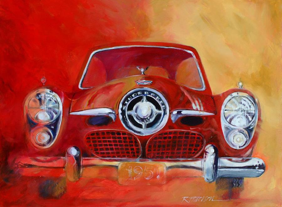 51 Studebaker - Acrylic - 48 x 36 inches