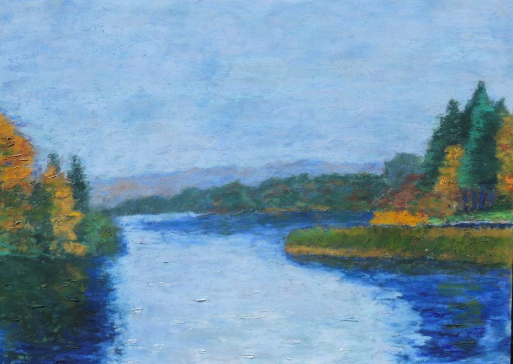 River Cong - Soft Pastel - 30 x 22