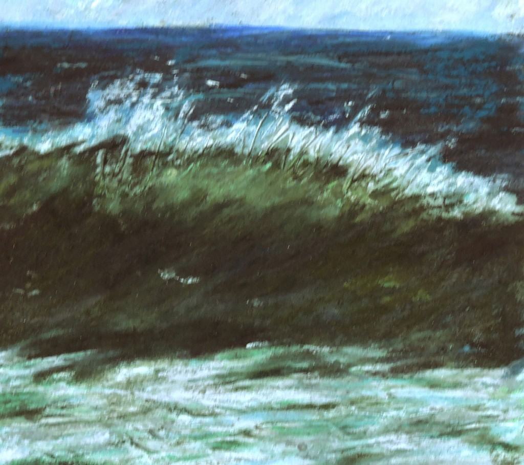 Atlantic Breaker - Pastel - 8x8