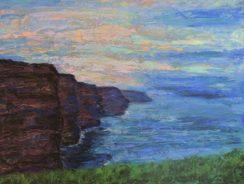 Ciffs of Moher - Pastel - 24x18