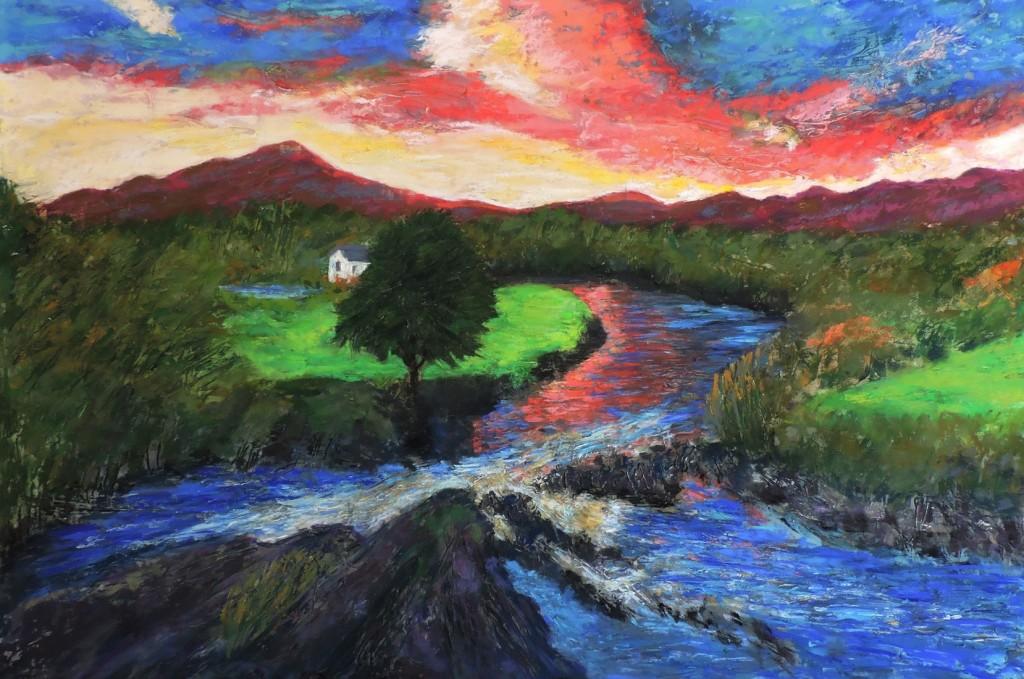 RiverSneem - Pastel - 24x36