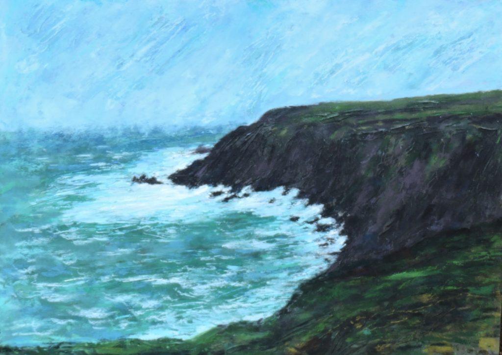 Rocky Coast - Pastel - 18 x 24