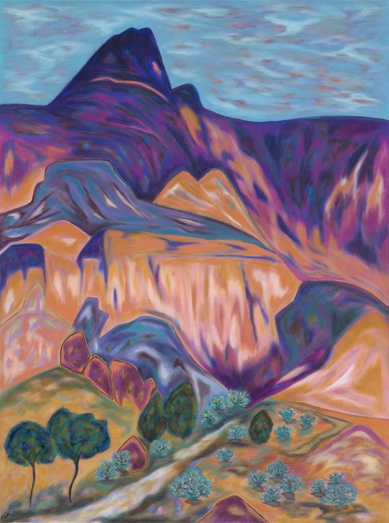 On the Way to Box Canyon - Acrylic - 30 x 40