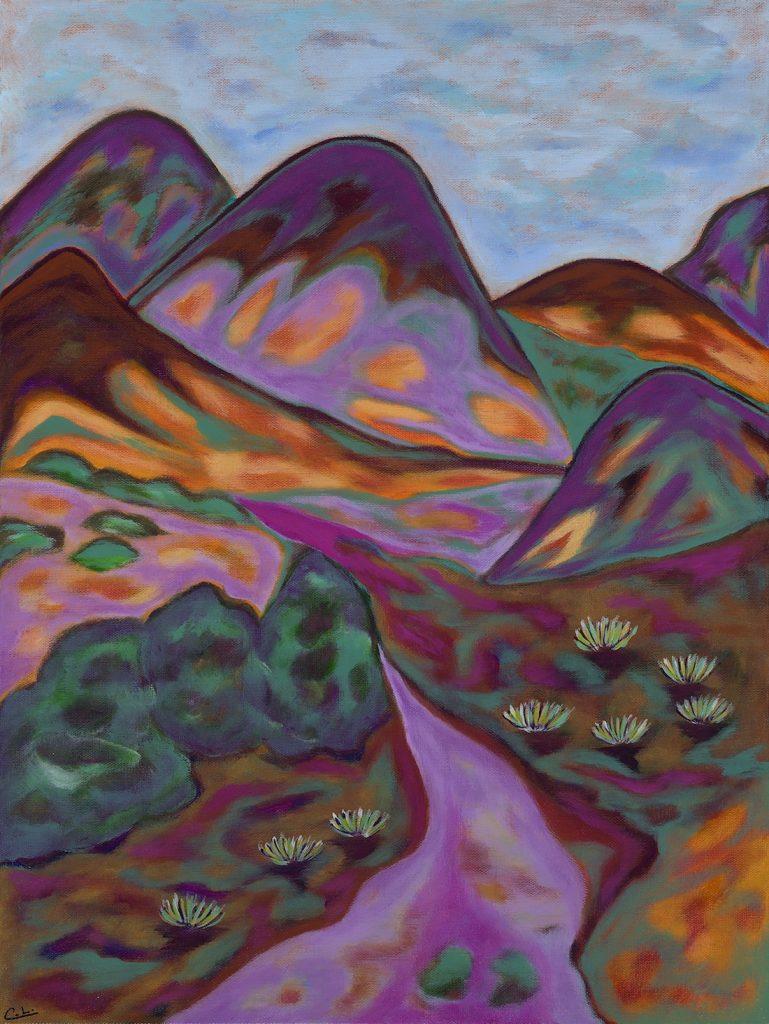 Hamilton Mesa - Acrylic - 18 x 24