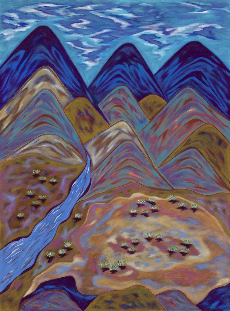 Desert Spring - Acrylic - 30 x 40
