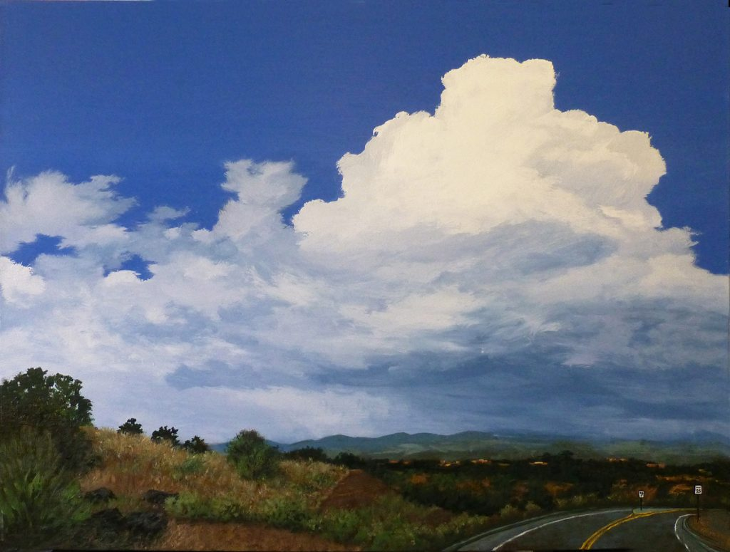 Clouds on the Sangres - Acrylic on Canvas - 30 x 40