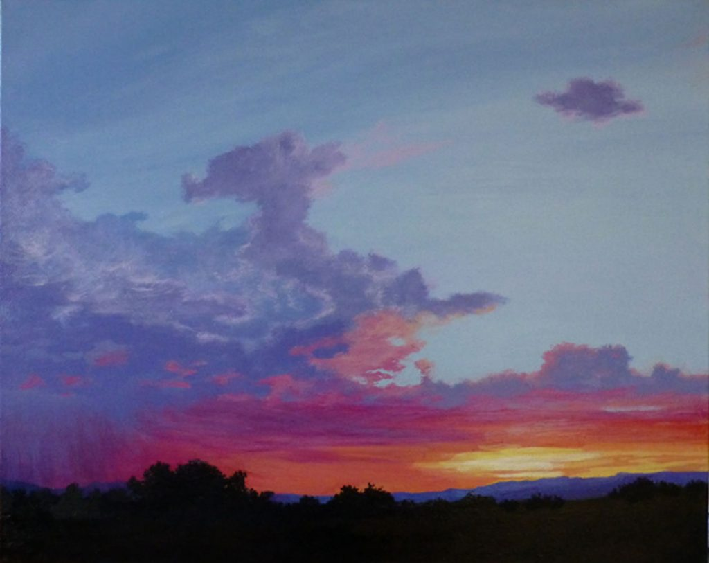 Eldorado Sunset - Acrylic on Canvas - 24 x 30
