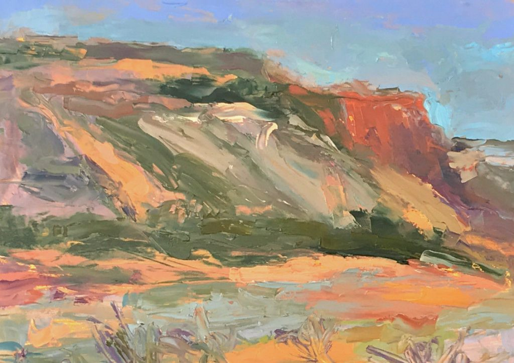 Morning in Diablo Canyon - Oil - 12 x 16