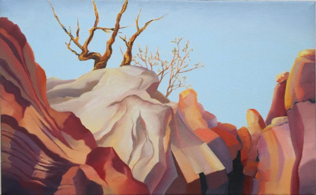 Rimrock - Oil on Canvas - 10 x 16