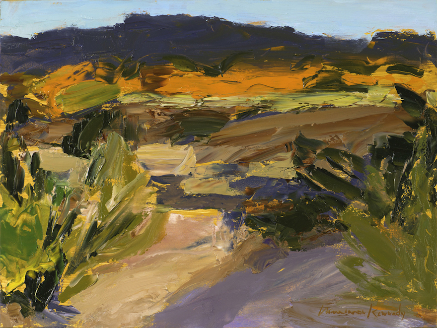 Late Afternoon in the Arroyo Gigante - Oil on Panel - 12 x 16